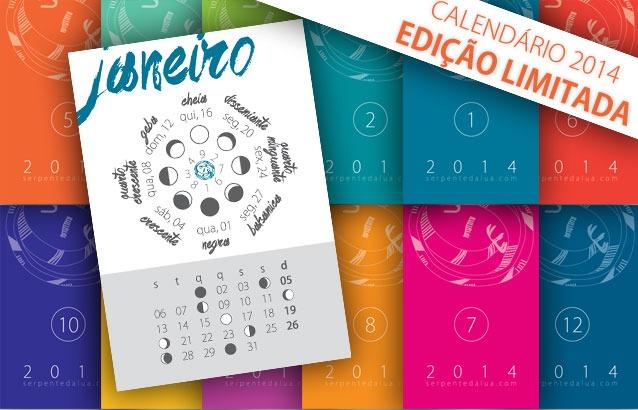 Calendário LuniSolar ~ 2014