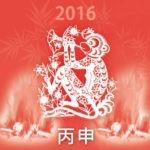 2016 ~ Ano do Macaco de Fogo