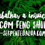 Trabalhar a intuição com o feng shui